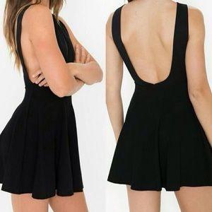 American apparel black dress.
